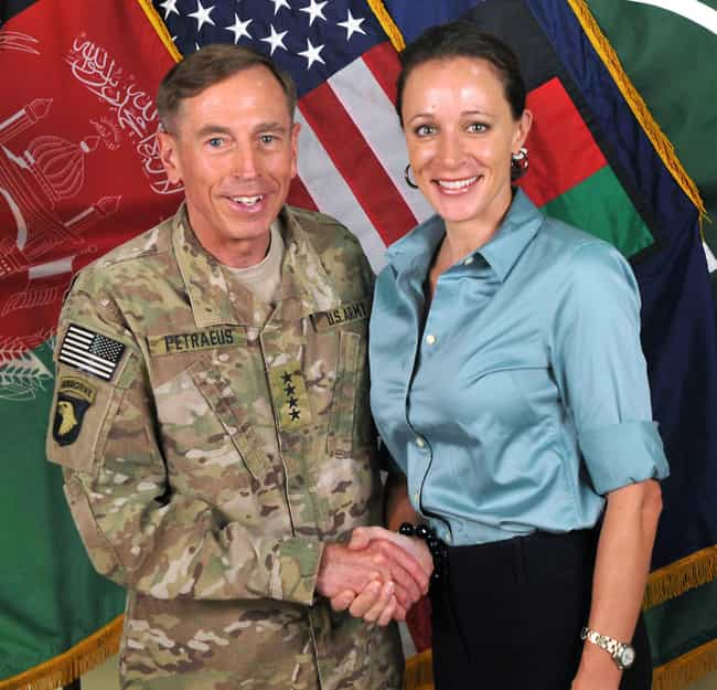 Shaking Hands is listed (or ranked) 2 on the list The Most Stunning Paula Broadwell Photos