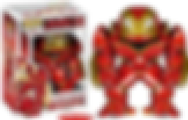 Hulkbuster is listed (or ranked) 3 on the list The Best Marvel Pop Funko Figures