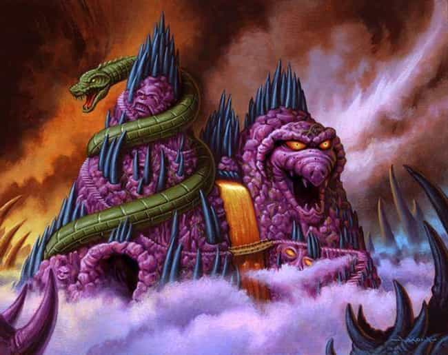 Skeletor's Snake Mountain is listed (or ranked) 3 on the list Supervillain Lairs
