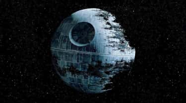 The Death Star is listed (or ranked) 1 on the list Supervillain Lairs