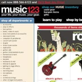Music 123 is listed (or ranked) 10 on the list The Best Guitar Stores In America