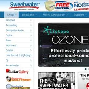 Sweetwater is listed (or ranked) 1 on the list The Best Guitar Stores In America