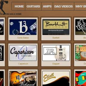 Destroy All Guitars is listed (or ranked) 8 on the list The Best Guitar Stores In America