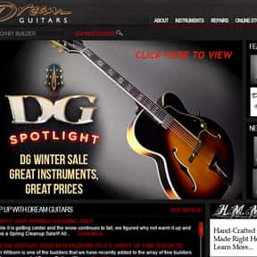 Dream Guitars is listed (or ranked) 7 on the list The Best Guitar Stores In America