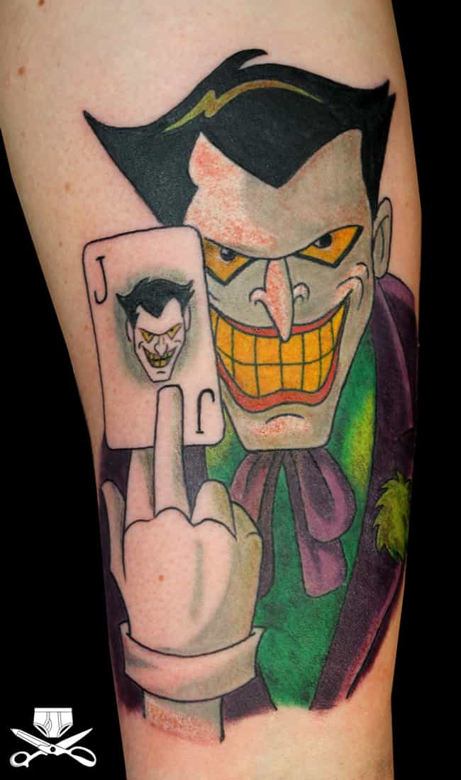 This Tat Is No...Joke (See Wha... is listed (or ranked) 3 on the list '90s Cartoon Tattoos