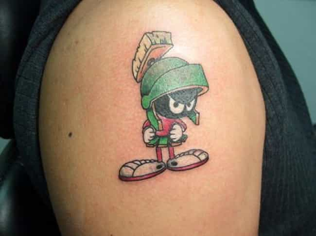 Marvin the Martian Stuck Explo... is listed (or ranked) 2 on the list '90s Cartoon Tattoos