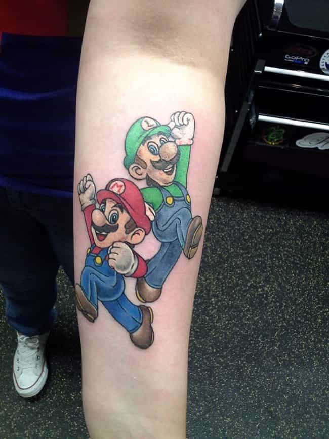 A Classic is listed (or ranked) 1 on the list '90s Cartoon Tattoos