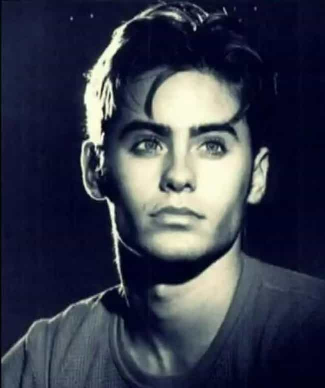 Young Jared Leto in Gray T-Shi... is listed (or ranked) 4 on the list 30 Pictures of Young Jared Leto