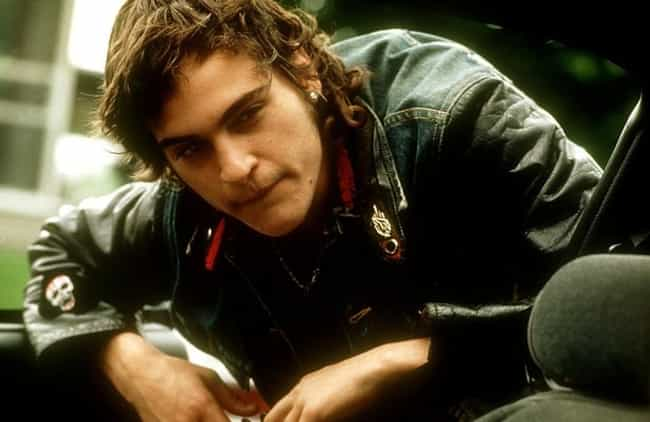 Young Joaquin Phoenix in Leath... is listed (or ranked) 5 on the list 20 Pictures of Young Joaquin Phoenix