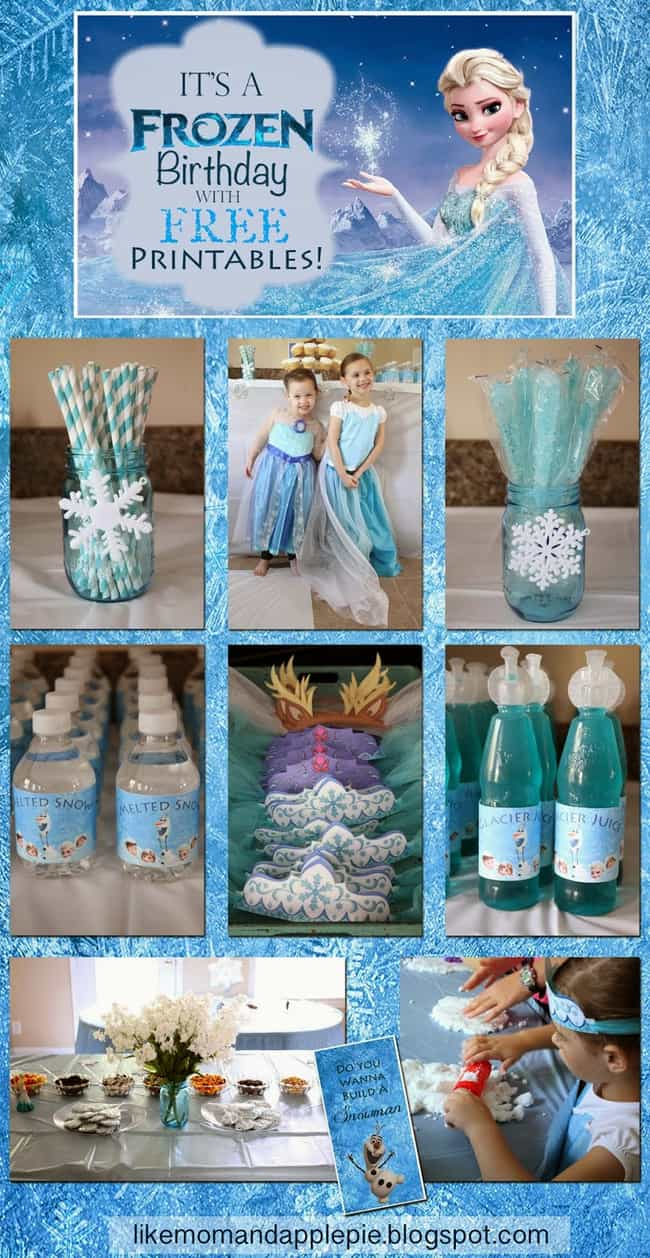 Frozen Party is listed (or ranked) 1 on the list Awesome Birthday Party Theme Ideas & How to Throw Them