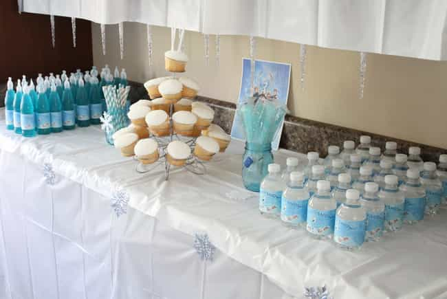 Frozen Party Treats is listed (or ranked) 2 on the list Awesome Birthday Party Theme Ideas & How to Throw Them