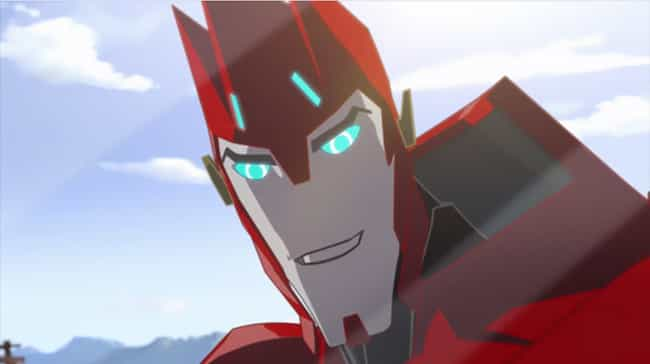 Sideswipe (Robots in Disguise) is listed (or ranked) 3 on the list Heroic Characters from Transformers Robots in Disguise 2015