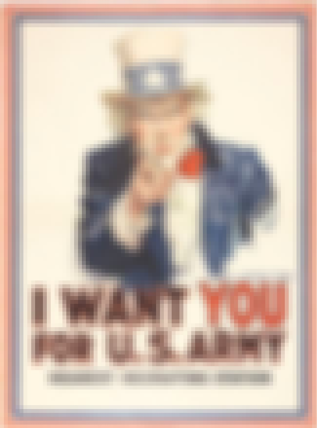 Uncle Sam Wants YOU is listed (or ranked) 1 on the list World War 2 Propaganda Posters, Explained