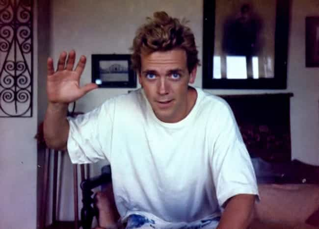 Young Hugh Laurie in White T-S... is listed (or ranked) 2 on the list 20 Pictures of Young Hugh Laurie