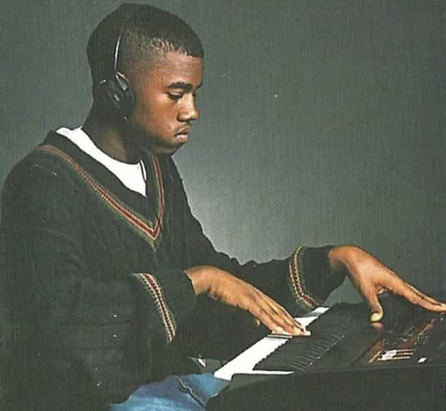 Young Kanye West in Blac... is listed (or ranked) 7 on the list 22 Pictures of Young Kanye West