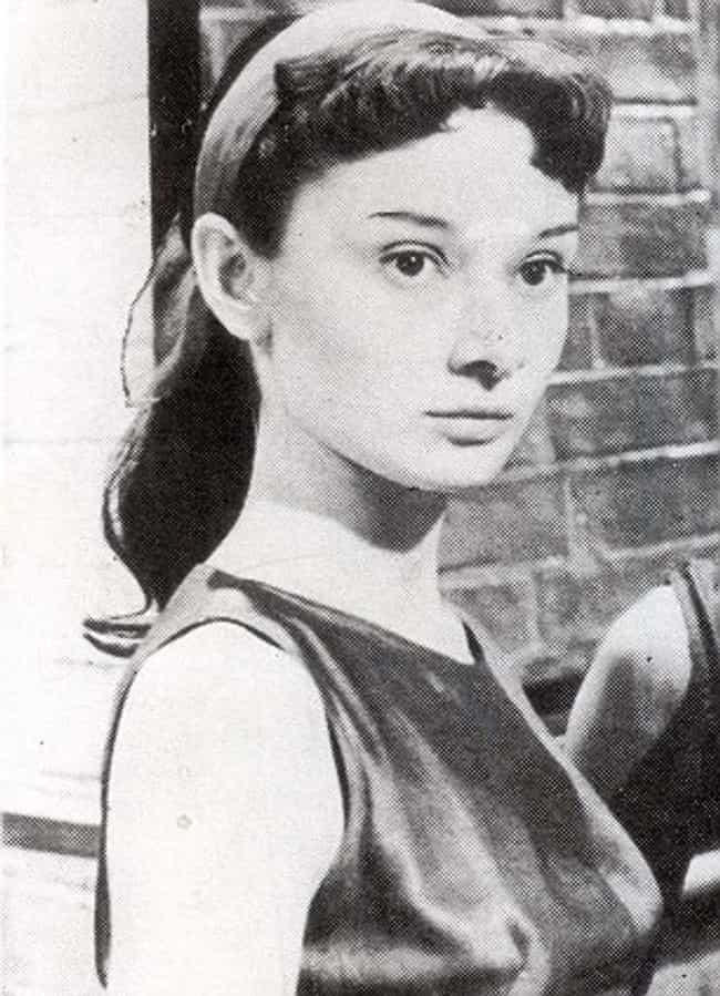 Young Audrey Hepburn in Black ... is listed (or ranked) 3 on the list 30 Pictures of Young Audrey Hepburn