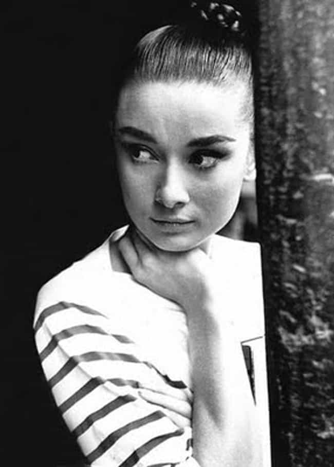 Young Audrey Hepburn in Stripe... is listed (or ranked) 2 on the list 30 Pictures of Young Audrey Hepburn