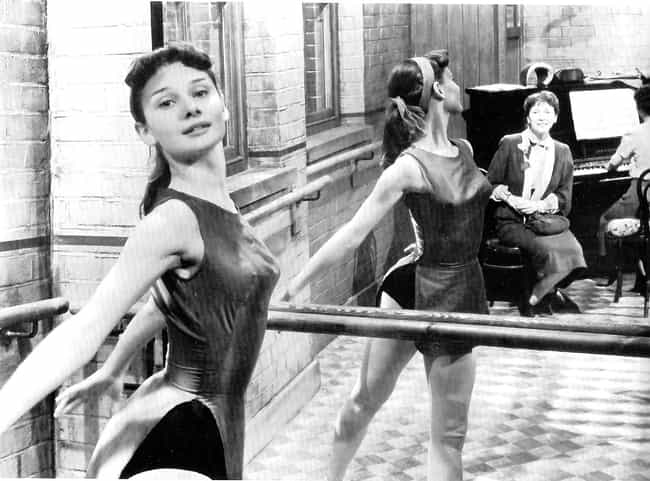 Young Audrey Hepburn in Ballet... is listed (or ranked) 1 on the list 30 Pictures of Young Audrey Hepburn