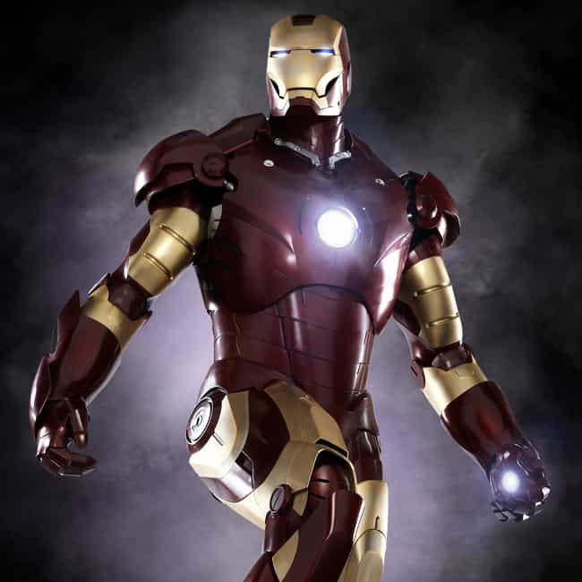 Iron Man is listed (or ranked) 1 on the list The Most Popular Superheroes in Armor