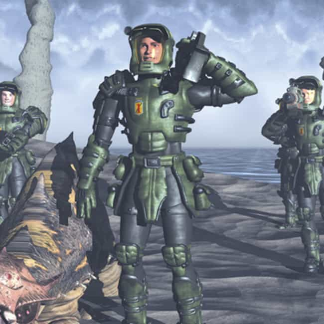 Starship Troopers is listed (or ranked) 2 on the list The Most Popular Superheroes in Armor