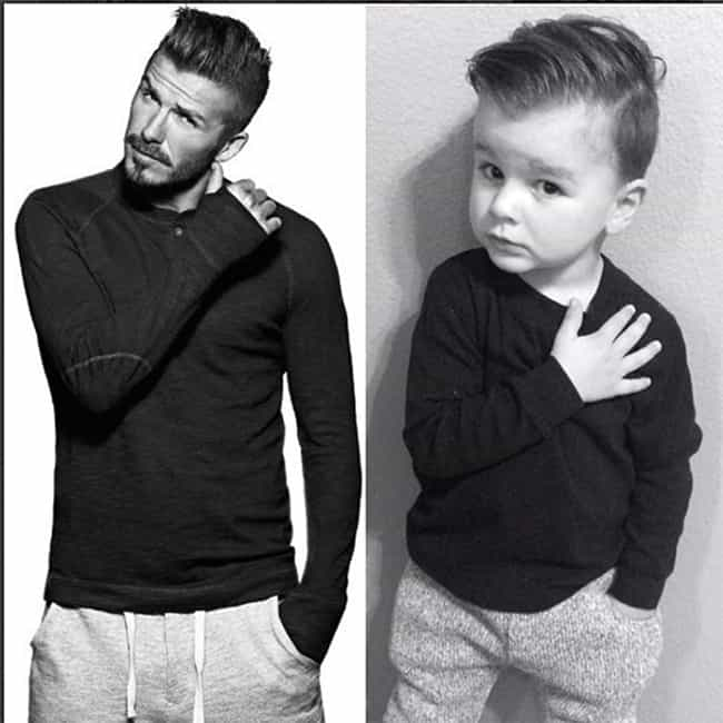Bend It Like Beckham (and a Fe... is listed (or ranked) 3 on the list Babies Who Have Better Instagram Game Than You Do
