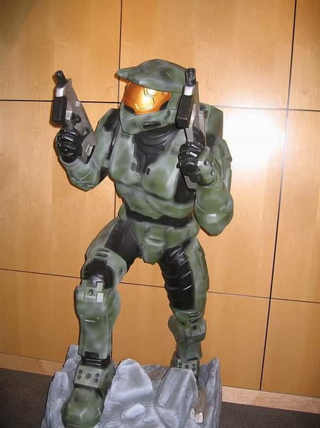 HALO's Master Chief is listed (or ranked) 3 on the list The Most Popular Superheroes in Armor