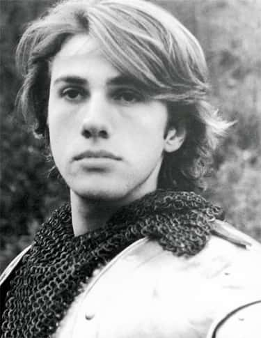 Young Christoph Waltz in Armor