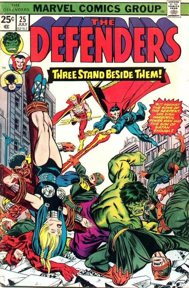 The Defenders (in the Comics) ... is listed (or ranked) 1 on the list 22 Things You Should Know About Netflix's The Defenders