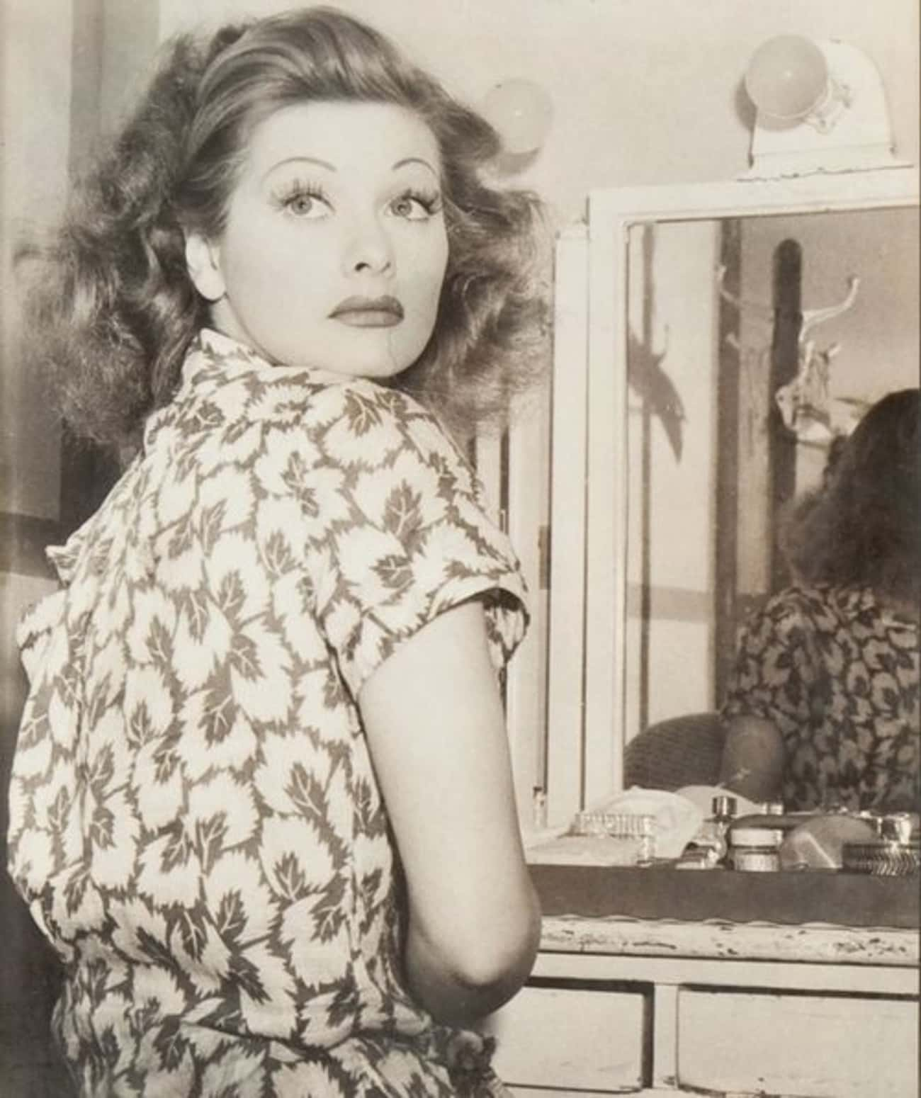 Young Lucille Ball in Patterne is listed (or ranked) 4 on the list 24 Pictures of Young Lucille Ball