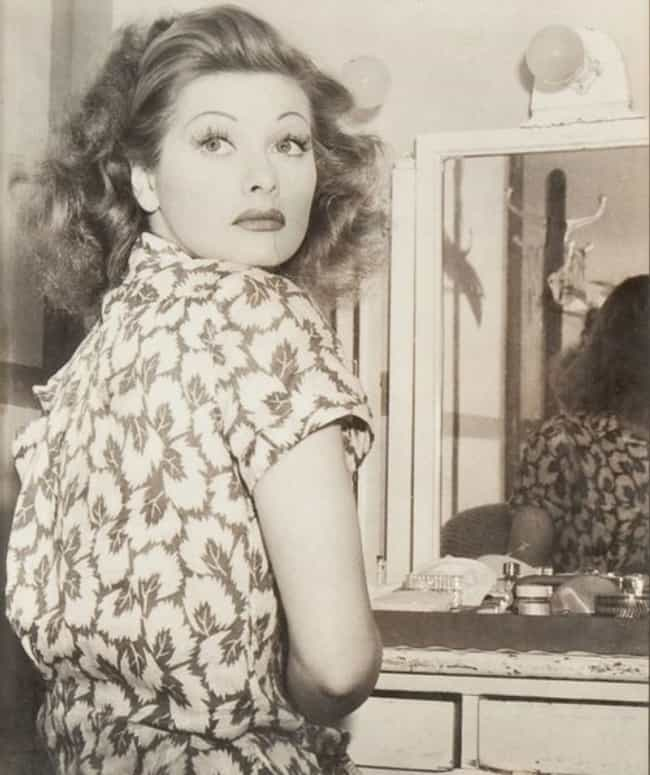 Young Lucille Ball in Patterne... is listed (or ranked) 4 on the list 24 Pictures of Young Lucille Ball