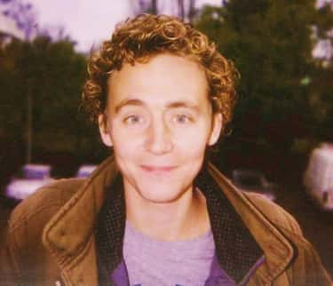 Young Tom Hiddleston in Brown Leather Jacket as a Kid