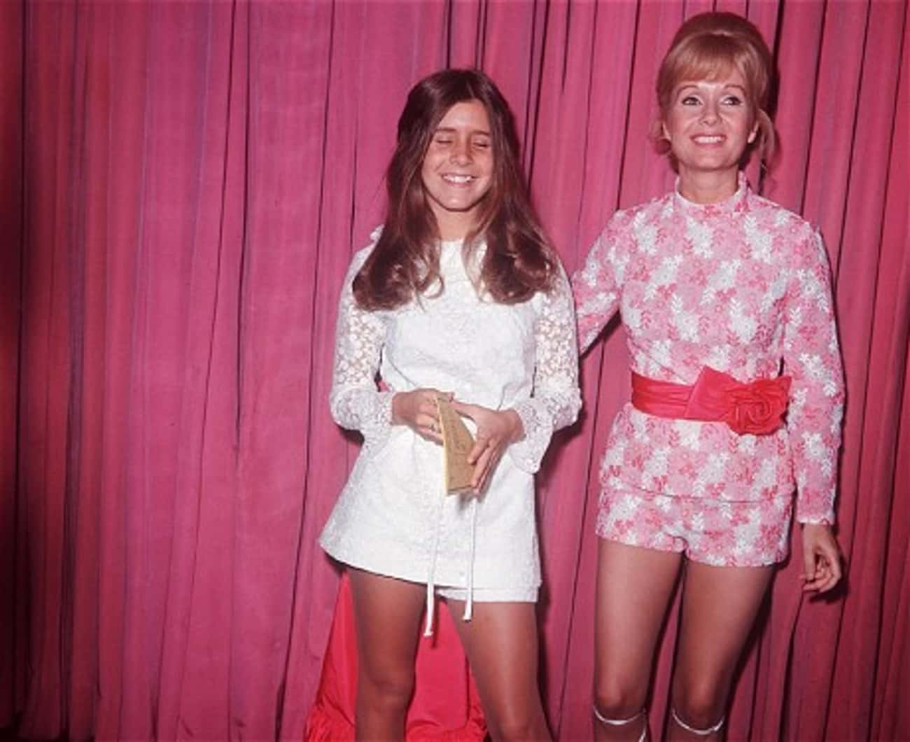 Teenage Carrie And Mom Debbie  is listed (or ranked) 2 on the list 30 Pictures of Young Carrie Fisher