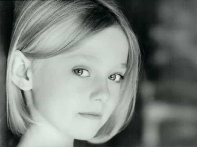 Young Dakota Fanning Black and... is listed (or ranked) 4 on the list 30 Pictures of Young Dakota Fanning