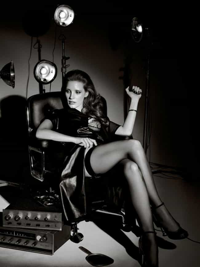 Jessica Chastain Likes the Spo... is listed (or ranked) 1 on the list The Hottest Jessica Chastain Photos