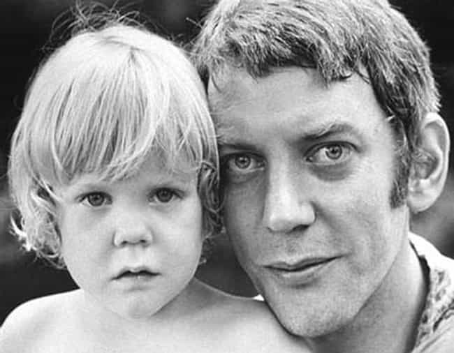 Young Donald Sutherland with K... is listed (or ranked) 4 on the list 22 Pictures of Young Donald Sutherland