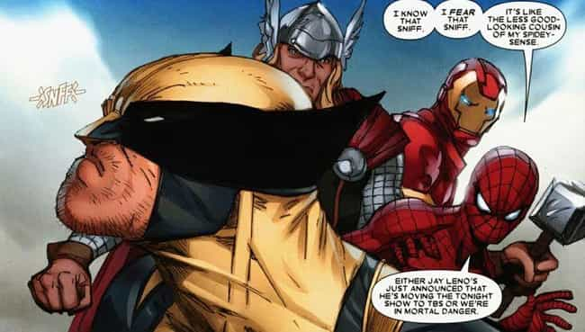 Wolverine's Tracking Abili... is listed (or ranked) 3 on the list Wolverine vs Deadpool: Who Wins This Marvel Grudge Match?