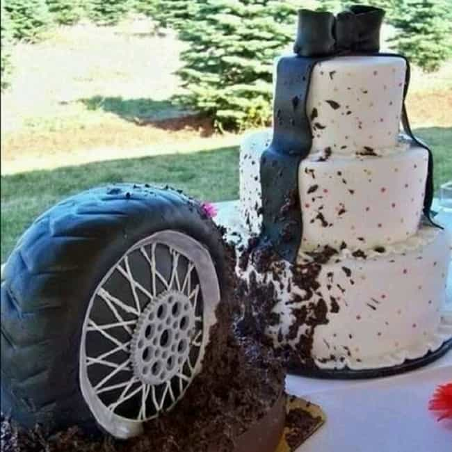 The Classiest His and He... is listed (or ranked) 2 on the list 20 Hilarious Hillbilly Wedding Photos