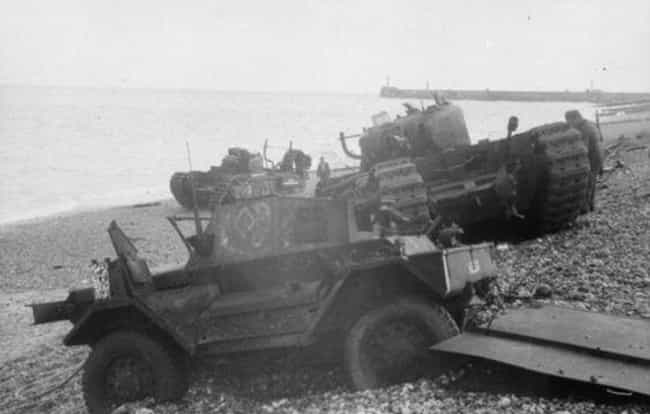 Dieppe Landing is listed (or ranked) 4 on the list 10 of the Worst Modern Military Blunders