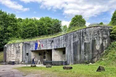 The Maginot Line Defense is listed (or ranked) 1 on the list 10 of the Worst Modern Military Blunders