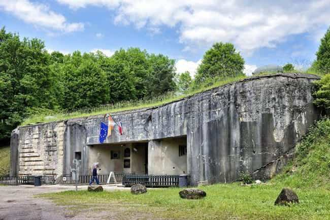 The Maginot Line Defense... is listed (or ranked) 1 on the list 10 of the Worst Modern Military Blunders