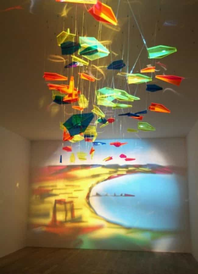 Glass Paper Airplanes Ma... is listed (or ranked) 2 on the list 37 Seriously Amazing Pieces of Shadow Art