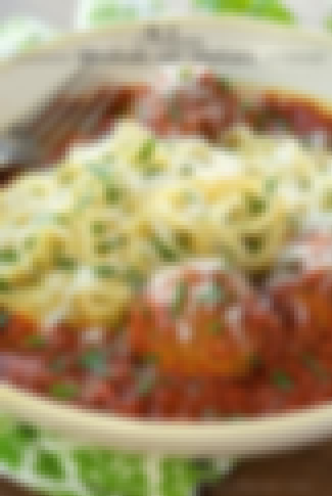 Italy: Meat Balls with Marinar... is listed (or ranked) 2 on the list 30+ International Recipes to Treat Your Taste Buds