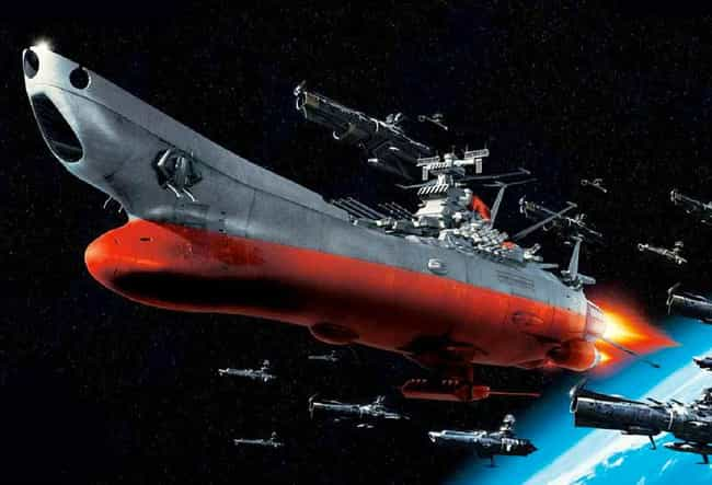 Space Battleship Yamato is listed (or ranked) 2 on the list The Most Popular Science Fiction Capital Warships