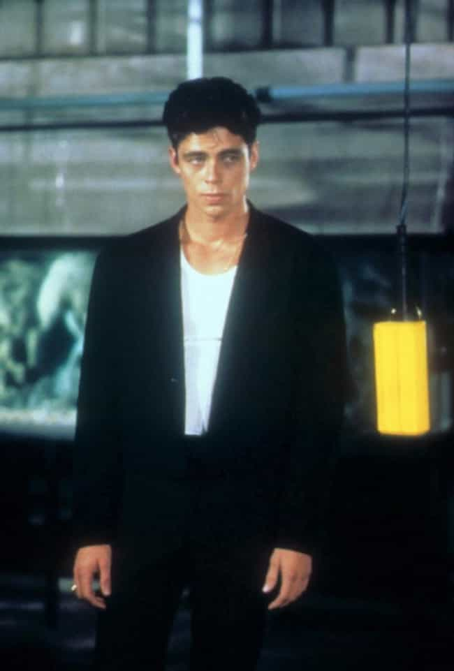 Young Benicio Del Toro in Blac... is listed (or ranked) 3 on the list 17 Pictures of Young Benicio Del Toro