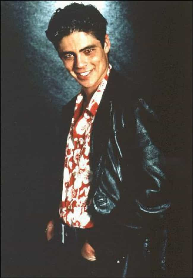 Young Benicio Del Toro in Leat... is listed (or ranked) 4 on the list 17 Pictures of Young Benicio Del Toro