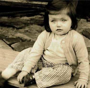 Young Catherine Zeta-Jones as a Baby