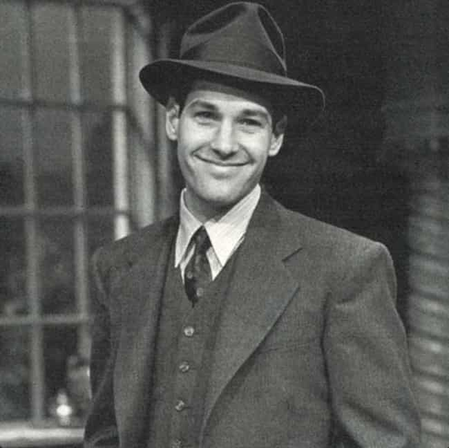 Young Paul Rudd in Gray Suit a... is listed (or ranked) 3 on the list 11 Pictures of Young Paul Rudd