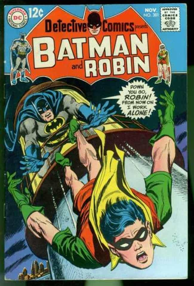 That Time He Pushed Robin to H... is listed (or ranked) 1 on the list 25 Times Batman Was A Major Dick In Comics