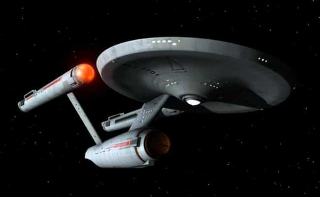USS Enterprise is listed (or ranked) 4 on the list The Most Popular Science Fiction Capital Warships