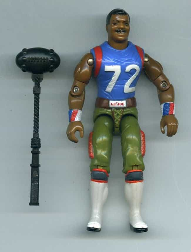 "William ""Refrigerator""... is listed (or ranked) 4 on the list The Strangest G.I. Joe Figures of All"
